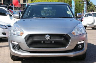 2017 Suzuki Swift AZ GL Navigator Premium Silver 1 Speed Constant Variable Hatchback