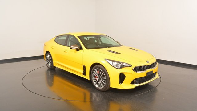 New Kia Stinger CK MY18 330S Fastback, 2017 Kia Stinger CK MY18 330S Fastback Sunset Yellow 8 Speed Sports Automatic Sedan