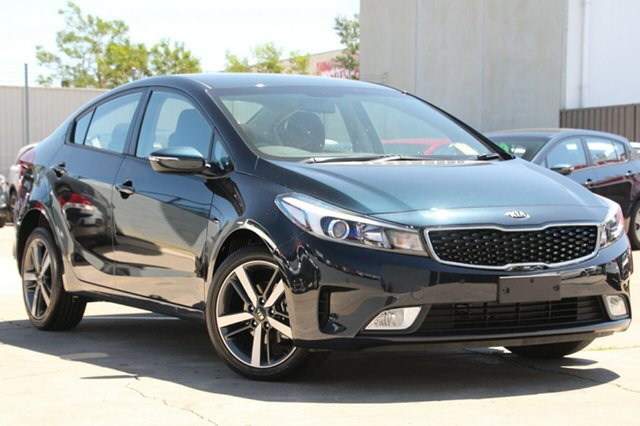 New Kia Cerato YD MY18 Sport, 2017 Kia Cerato YD MY18 Sport Gravity Blue 6 Speed Sports Automatic Sedan