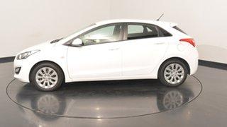 2017 Hyundai i30 GD4 Series II MY17 Active Polar White 6 Speed Sports Automatic Hatchback.