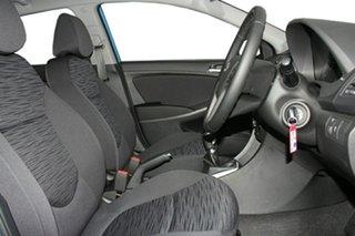 2018 Hyundai Accent RB6 MY18 Sport Blue Lagoon 6 Speed Manual Hatchback