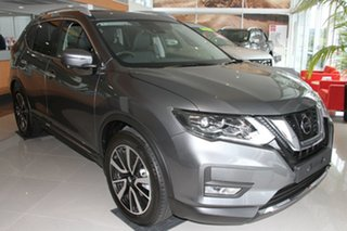 2021 Nissan X-Trail T32 MY21 Ti X-tronic 4WD Gun Metallic 7 Speed Constant Variable Wagon.
