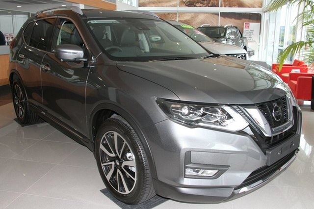 New Nissan X-Trail T32 Series II Ti X-tronic 4WD, 2019 Nissan X-Trail T32 Series II Ti X-tronic 4WD Gun Metallic 7 Speed Constant Variable Wagon