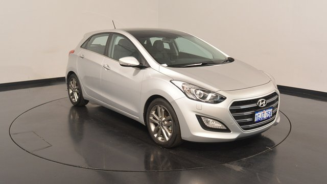 Used Hyundai i30 GD3 Series II MY17 Premium DCT, 2016 Hyundai i30 GD3 Series II MY17 Premium DCT Silver 7 Speed Sports Automatic Dual Clutch