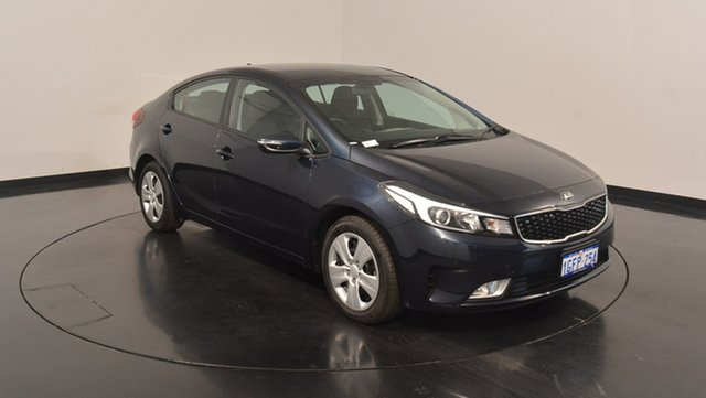 Used Kia Cerato YD MY17 S, 2017 Kia Cerato YD MY17 S Gravity Blue 6 Speed Sports Automatic Hatchback