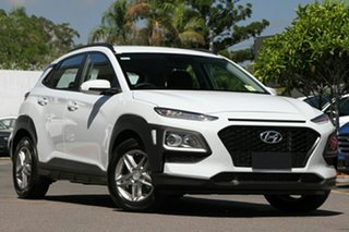 2017 Hyundai Kona OS MY18 Active D-CT AWD Chalk White 7 Speed Sports Automatic Dual Clutch Wagon.