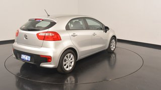 2015 Kia Rio UB MY16 S Silver 4 Speed Sports Automatic Hatchback