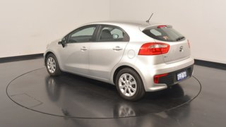 2015 Kia Rio UB MY16 S Silver 4 Speed Sports Automatic Hatchback.