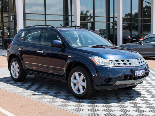 Used Nissan Murano Z50 TI, 2006 Nissan Murano Z50 TI Blue 6 Speed Constant Variable Wagon