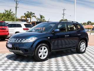 2006 Nissan Murano Z50 TI Blue 6 Speed Constant Variable Wagon.
