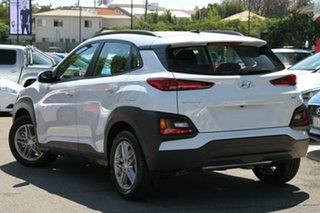 2017 Hyundai Kona OS MY18 Active 2WD Chalk White 6 Speed Sports Automatic Wagon.