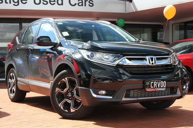 New Honda CR-V RW MY18 VTi-S FWD, 2018 Honda CR-V RW MY18 VTi-S FWD Crystal Black 1 Speed Constant Variable Wagon