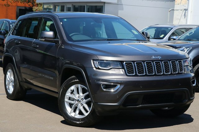 New Jeep Grand Cherokee WK MY18 Laredo, 2018 Jeep Grand Cherokee WK MY18 Laredo Granite Crystal Metallic 8 Speed Sports Automatic Wagon