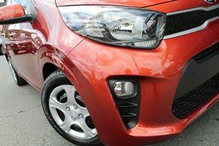 2018 Kia Picanto JA MY18 S Pop Orange 4 Speed Automatic Hatchback.