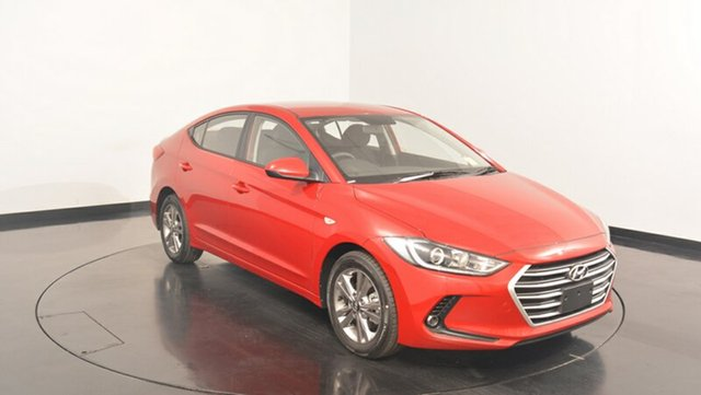 New Hyundai Elantra AD MY17 Active, 2017 Hyundai Elantra AD MY17 Active Fiery Red 6 Speed Sports Automatic Sedan
