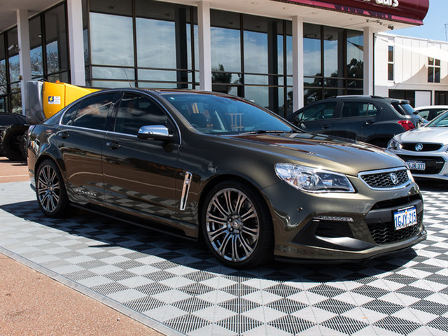 Used Holden Special Vehicles Senator GEN-F2 MY16 Signature, 2015 Holden Special Vehicles Senator GEN-F2 MY16 Signature Bronze 6 Speed Sports Automatic Sedan