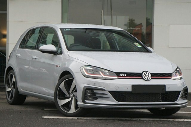 New Volkswagen Golf 7.5 MY20 GTI DSG, 2020 Volkswagen Golf 7.5 MY20 GTI DSG White 7 Speed Sports Automatic Dual Clutch Hatchback