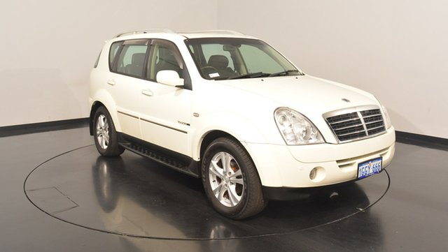 Used Ssangyong Rexton Y285 II MY10 RX270 XVT SPR, 2011 Ssangyong Rexton Y285 II MY10 RX270 XVT SPR White 5 Speed Sports Automatic Wagon