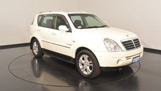 2011 Ssangyong Rexton Y285 II MY10 RX270 XVT SPR White 5 Speed Sports Automatic Wagon