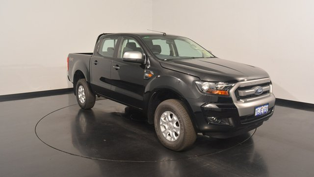 Used Ford Ranger PX MkII XLS Double Cab, 2017 Ford Ranger PX MkII XLS Double Cab Shadow Black 6 Speed Sports Automatic Utility
