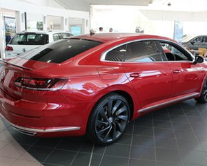 2017 Volkswagen Arteon 3H MY18 206TSI Coupe DSG 4MOTION R-Line Chilli Red 7 Speed