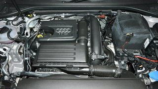 2016 Audi A3 8V MY16 Attraction S tronic Silver 7 Speed Sports Automatic Dual Clutch Sedan