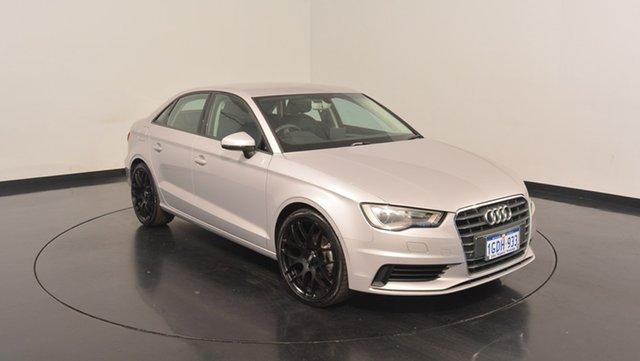 Used Audi A3 8V MY16 Attraction S tronic, 2016 Audi A3 8V MY16 Attraction S tronic Silver 7 Speed Sports Automatic Dual Clutch Sedan