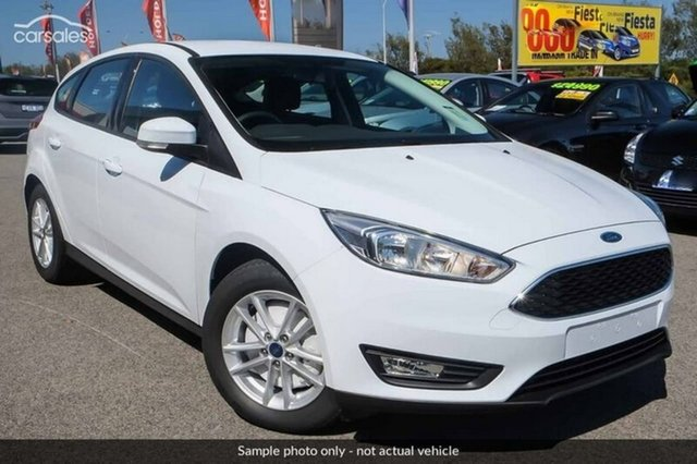 Demo Ford Focus LZ Trend, 2017 Ford Focus LZ Trend Frozen White 6 Speed Automatic Hatchback