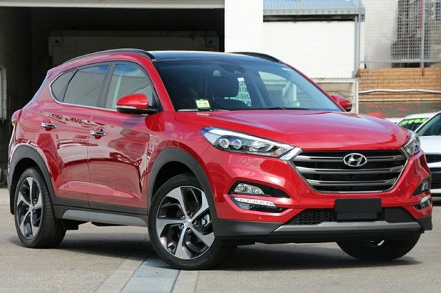 New Hyundai Tucson TLE2 MY18 Highlander R-Series (AWD) RED, 2018 Hyundai Tucson TLE2 MY18 Highlander R-Series (AWD) RED Fiery Red 6 Speed Automatic Wagon