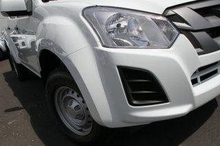 2019 Isuzu D-MAX MY19 SX Crew Cab Splash White 6 Speed Sports Automatic Utility.