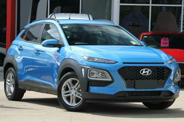 New Hyundai Kona OS MY18 Active 2WD, 2018 Hyundai Kona OS MY18 Active 2WD Blue Lagoon 6 Speed Sports Automatic Wagon