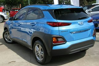 2017 Hyundai Kona OS MY18 Active 2WD Blue Lagoon 6 Speed Sports Automatic Wagon.