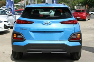 2017 Hyundai Kona OS MY18 Active 2WD Blue Lagoon 6 Speed Sports Automatic Wagon