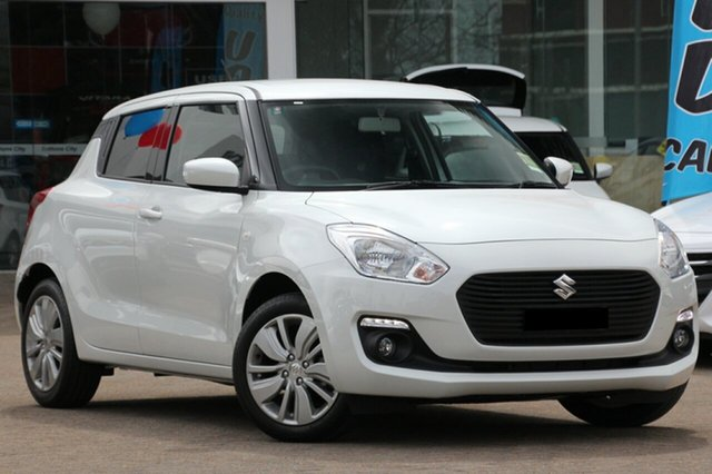 New Suzuki Swift AZ GL Navigator, 2020 Suzuki Swift AZ GL Navigator Pure White 1 Speed Constant Variable Hatchback