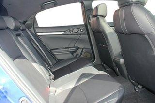 2019 Honda Civic 10th Gen MY18 VTi-LX Blue 1 Speed Constant Variable Hatchback.