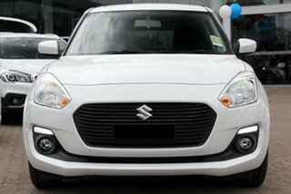 2017 Suzuki Swift AZ GL Navigator Pure White 1 Speed Constant Variable Hatchback