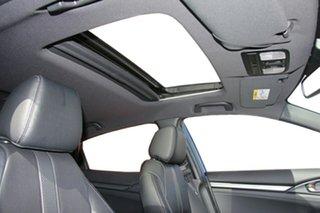 2019 Honda Civic 10th Gen MY18 VTi-LX Blue 1 Speed Constant Variable Hatchback