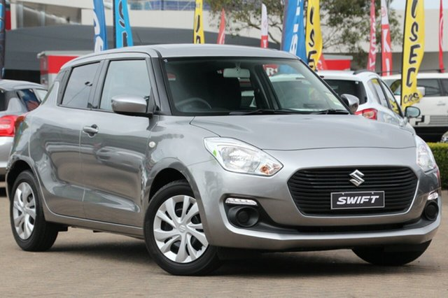 Demo Suzuki Swift AZ GL, 2017 Suzuki Swift AZ GL Premium Silver 5 Speed Manual Hatchback