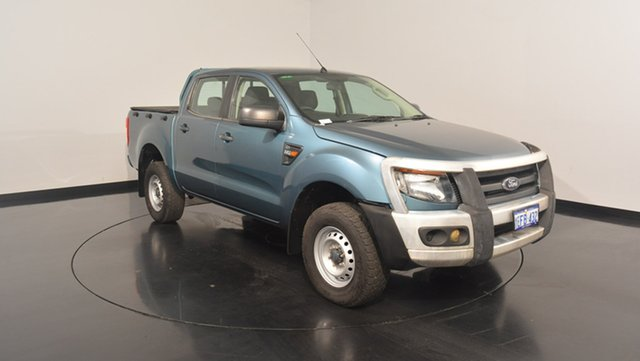 Used Ford Ranger PX XL Double Cab 4x2 Hi-Rider, 2012 Ford Ranger PX XL Double Cab 4x2 Hi-Rider Green 6 Speed Sports Automatic Utility