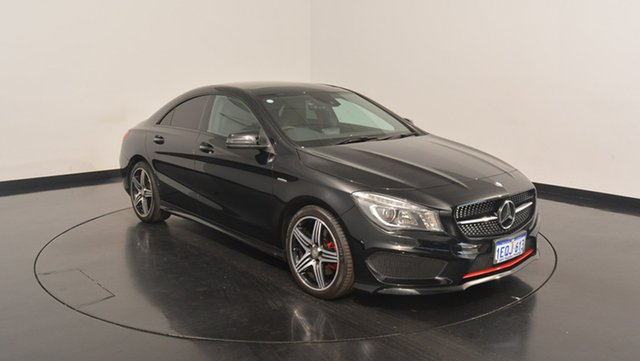 Used Mercedes-Benz CLA250 C117 Sport DCT 4MATIC, 2014 Mercedes-Benz CLA250 C117 Sport DCT 4MATIC Black 7 Speed Sports Automatic Dual Clutch Coupe