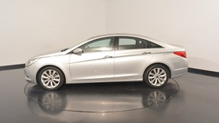 2011 Hyundai i45 YF MY11 Premium Sleek Silver 6 Speed Sports Automatic Sedan.
