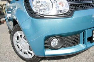 2017 Suzuki Ignis MF GL Neon Blue 1 Speed Constant Variable Hatchback.