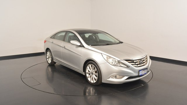 Used Hyundai i45 YF MY11 Premium, 2011 Hyundai i45 YF MY11 Premium Sleek Silver 6 Speed Sports Automatic Sedan