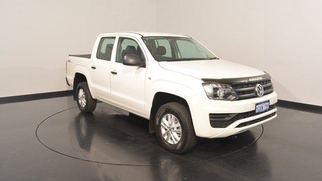 Used Volkswagen Amarok 2H MY16 TDI400 4MOT Core, 2016 Volkswagen Amarok 2H MY16 TDI400 4MOT Core White 6 Speed Manual Utility