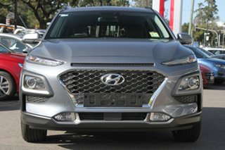 2017 Hyundai Kona OS MY18 Elite D-CT AWD Lake Silver 7 Speed Sports Automatic Dual Clutch Wagon