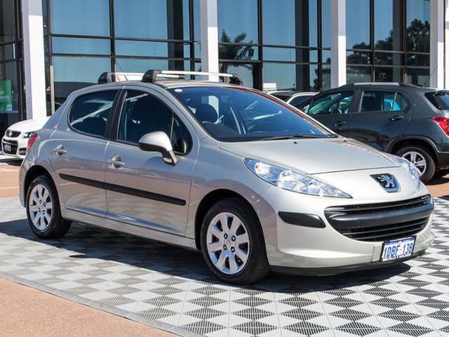 Used Peugeot 207 A7 XR, 2009 Peugeot 207 A7 XR Grey 4 Speed Sports Automatic Hatchback