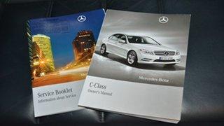 2011 Mercedes-Benz C63 W204 MY11 AMG White 7 Speed Sports Automatic Sedan