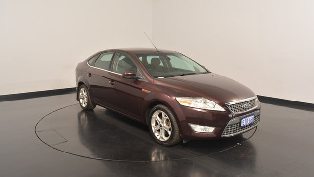 Used Ford Mondeo MB MY11 LX PwrShift TDCi, 2010 Ford Mondeo MB MY11 LX PwrShift TDCi Maroon 6 Speed Sports Automatic Dual Clutch Hatchback