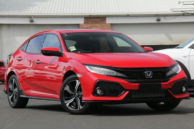 New Honda Civic 10th Gen MY18 RS, 2018 Honda Civic 10th Gen MY18 RS Rallye Red 1 Speed Constant Variable Hatchback