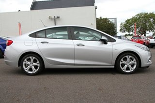 2018 Holden Astra BL MY18 LT Nitrate Silver 6 Speed Sports Automatic Sedan.